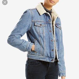 Levi's Original Sherpa Jean Jacket